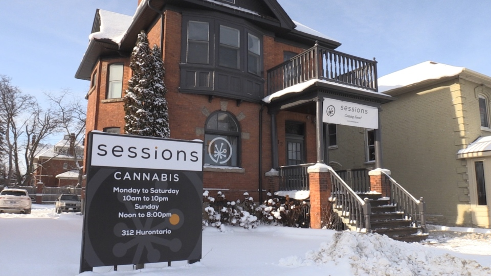 Collingwood creates a buzz with region's first pot shop