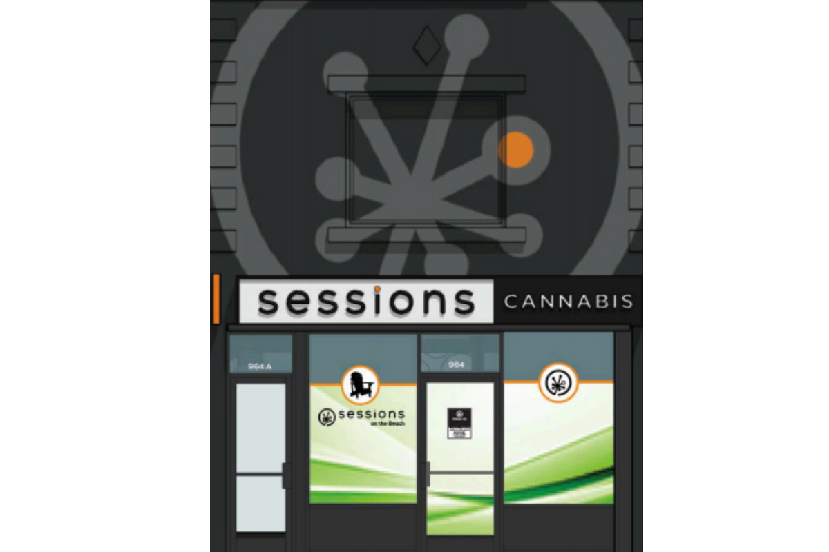 Sessions on the Beaches to cut ribbon on area's first legal cannabis store at 9:45 a.m. on Feb. 14