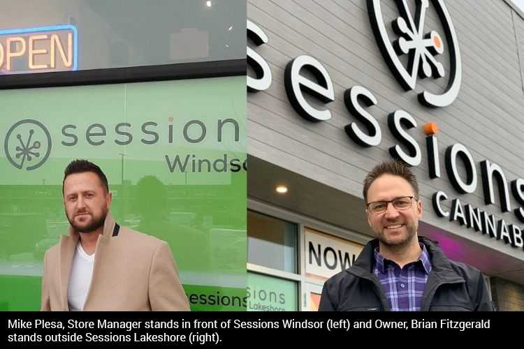 St. Clair College professor opens two budding cannabis retail stores