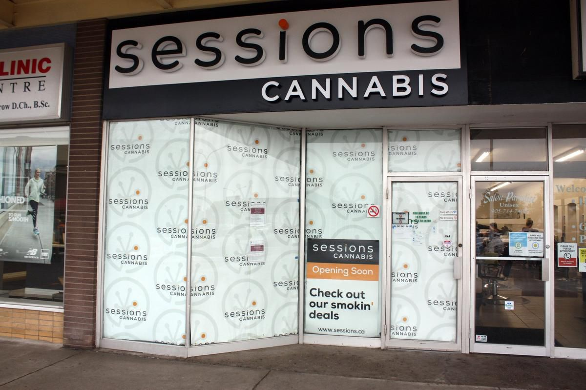 Sessions Cannabis opening at Fitch Street Plaza this month