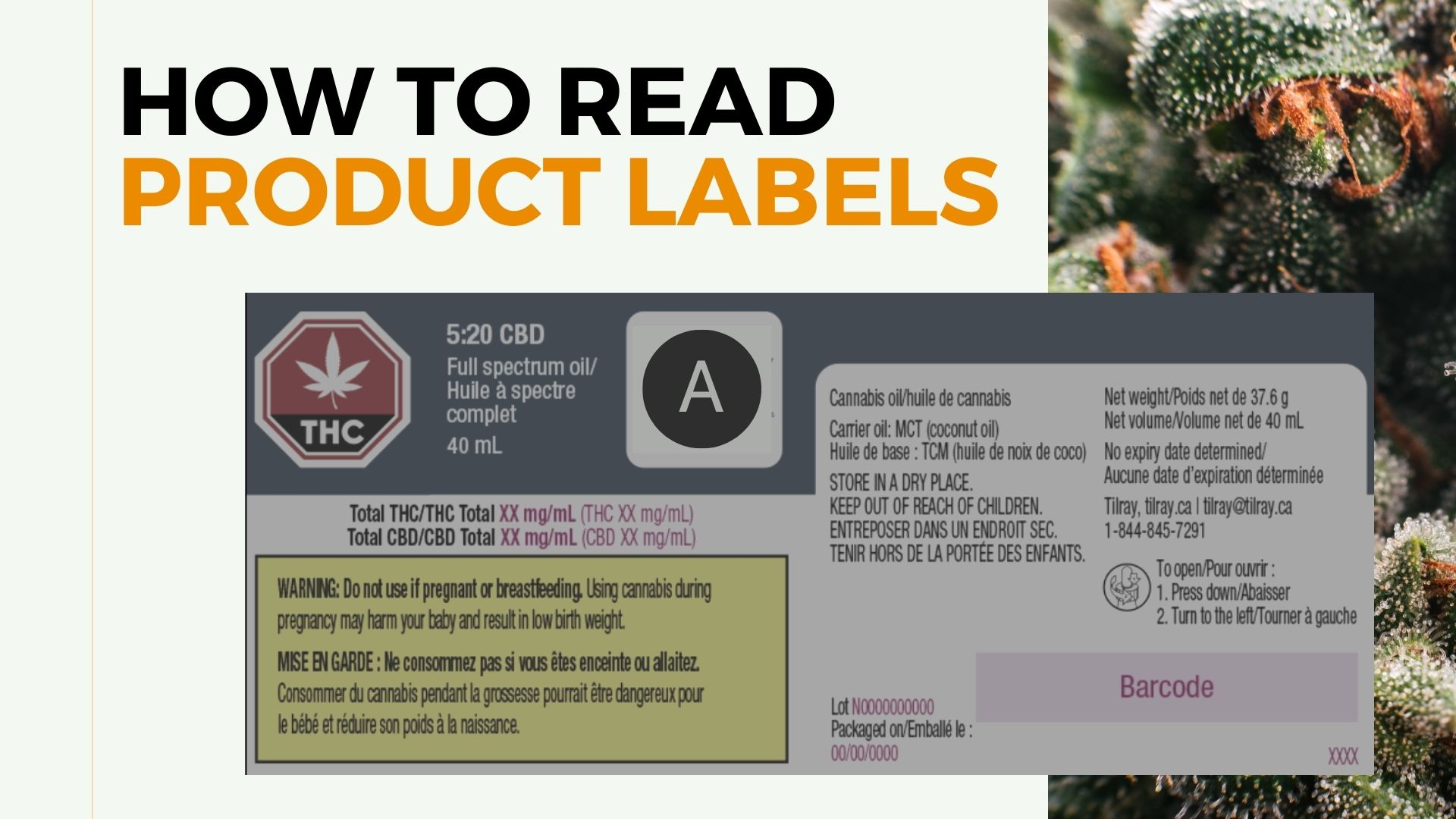 How to Navigate a Cannabis Product Label